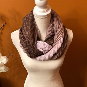 Lovely infinity scarf.